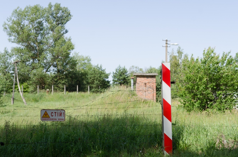 A walk in the Ukranian countryside. They sure have a lot of fences.